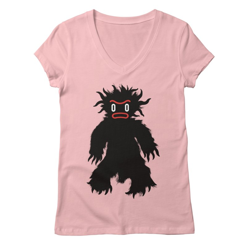 Monster of the day (February 15) [Year 1] Women's Regular V-Neck by Daily Monster Shop by Royal Glamsters