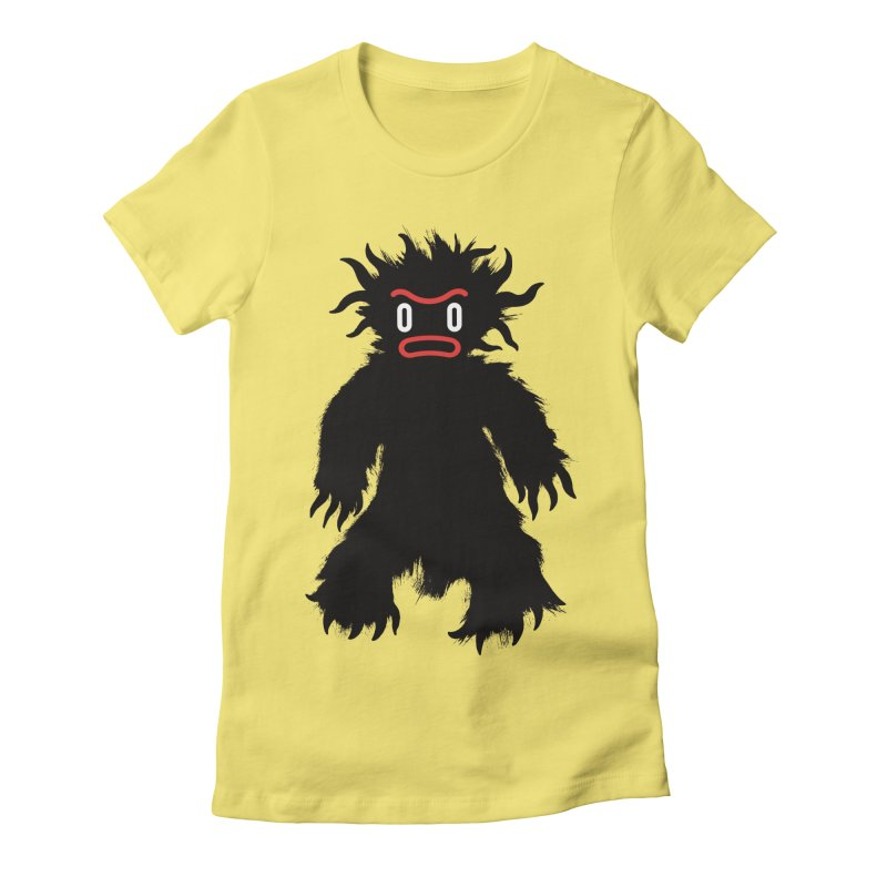 Monster of the day (February 15) [Year 1] Women's Fitted T-Shirt by Daily Monster Shop by Royal Glamsters