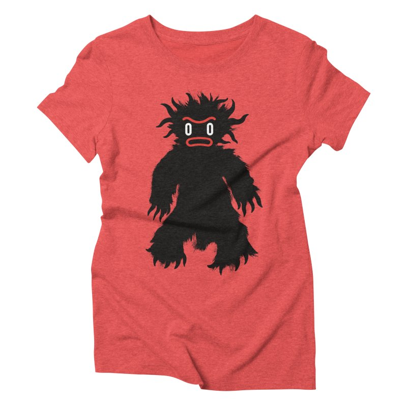 Monster of the day (February 15) [Year 1] Women's Triblend T-Shirt by Daily Monster Shop by Royal Glamsters