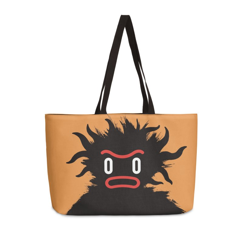 Monster of the day (February 15) [Year 1] Accessories Weekender Bag Bag by Daily Monster Shop by Royal Glamsters