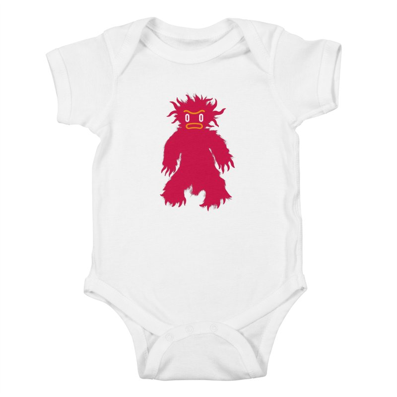 Monster of the day (February 15) [Year 1] (For kids only) Kids Baby Bodysuit by Daily Monster Shop by Royal Glamsters