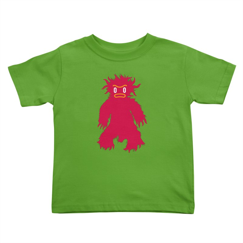 Monster of the day (February 15) [Year 1] (For kids only) Kids Toddler T-Shirt by Daily Monster Shop by Royal Glamsters