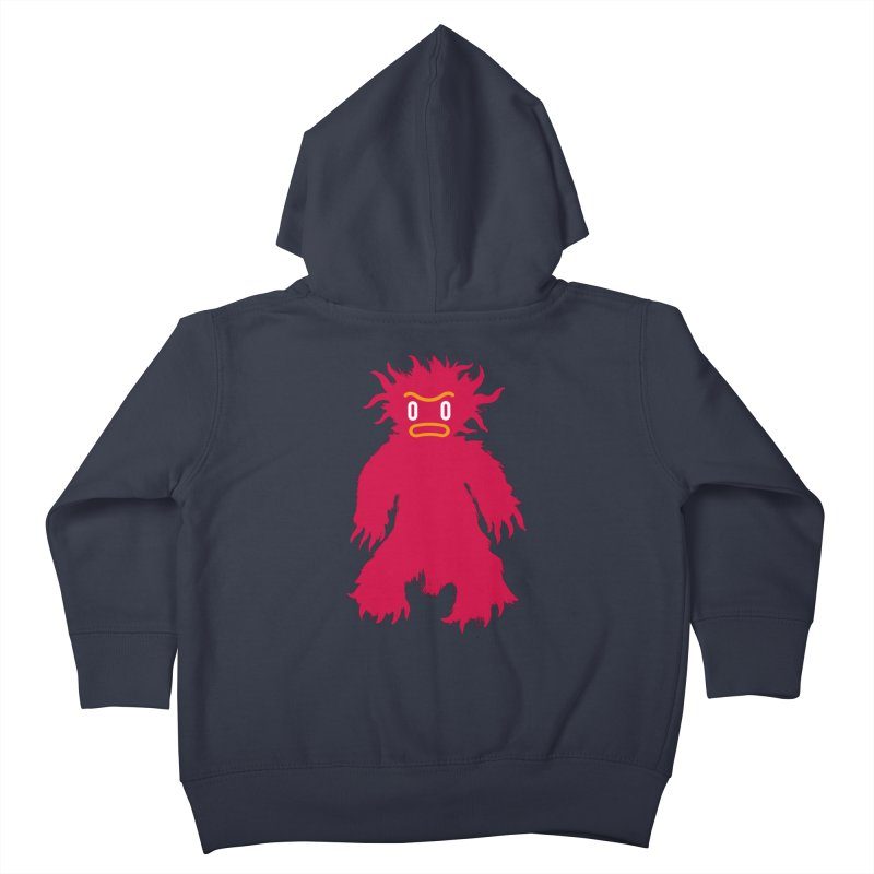Monster of the day (February 15) [Year 1] (For kids only) Kids Toddler Zip-Up Hoody by Daily Monster Shop by Royal Glamsters
