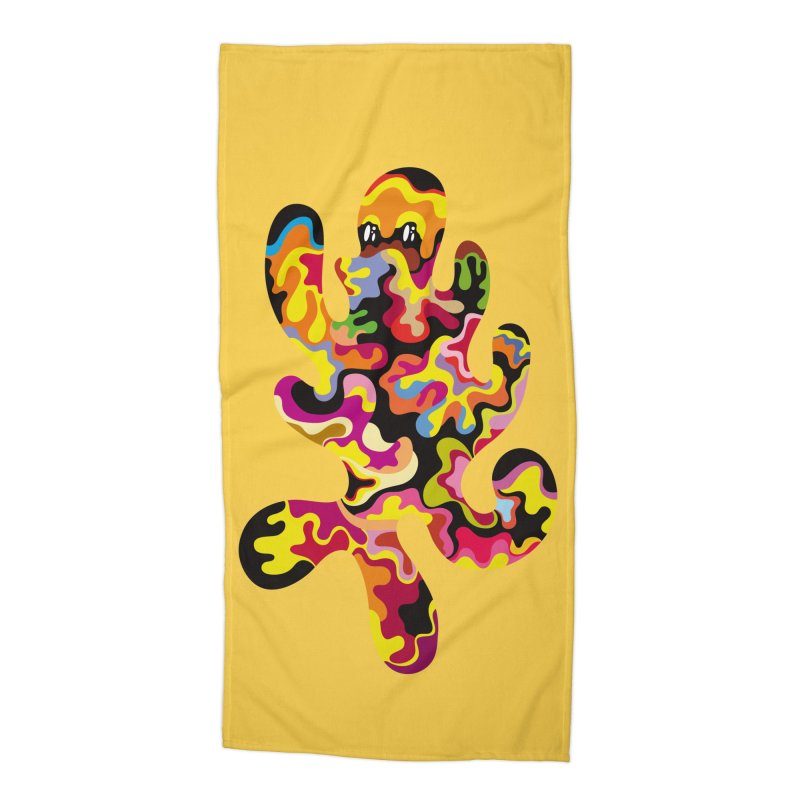 Monster of the day (September 18) [Year 1] Accessories Beach Towel by Daily Monster Shop by Royal Glamsters