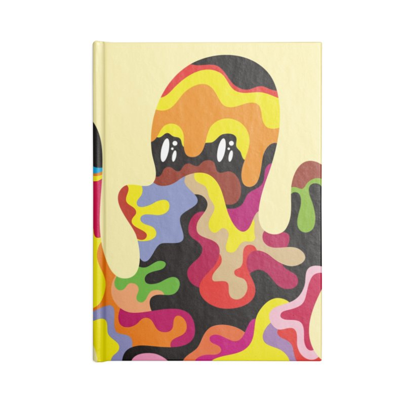 Monster of the day (September 18) [Year 1] Accessories Lined Journal Notebook by Daily Monster Shop by Royal Glamsters