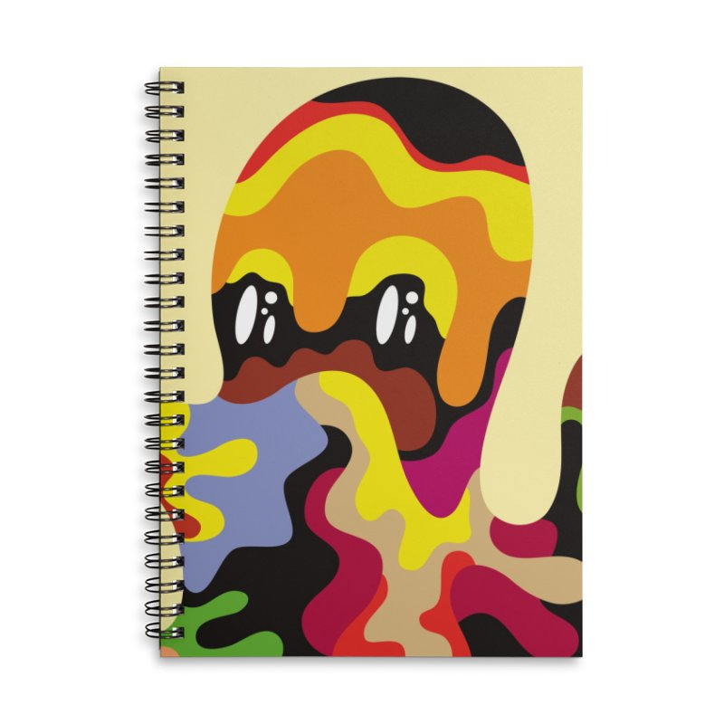 Monster of the day (September 18) [Year 1] Accessories Lined Spiral Notebook by Daily Monster Shop by Royal Glamsters