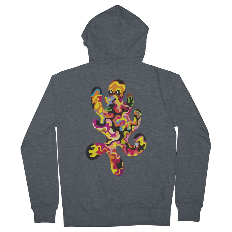 Monster of the day (September 18) [Year 1] Women's French Terry Zip-Up Hoody by Daily Monster Shop by Royal Glamsters