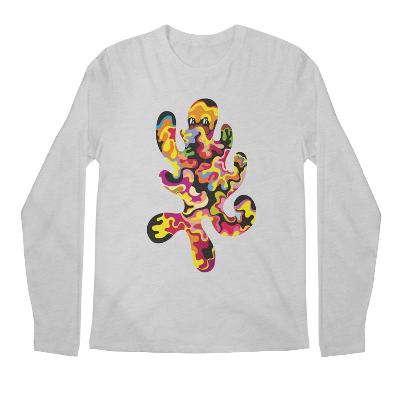 Monster of the day (September 18) [Year 1] Men's Regular Longsleeve T-Shirt by Daily Monster Shop by Royal Glamsters