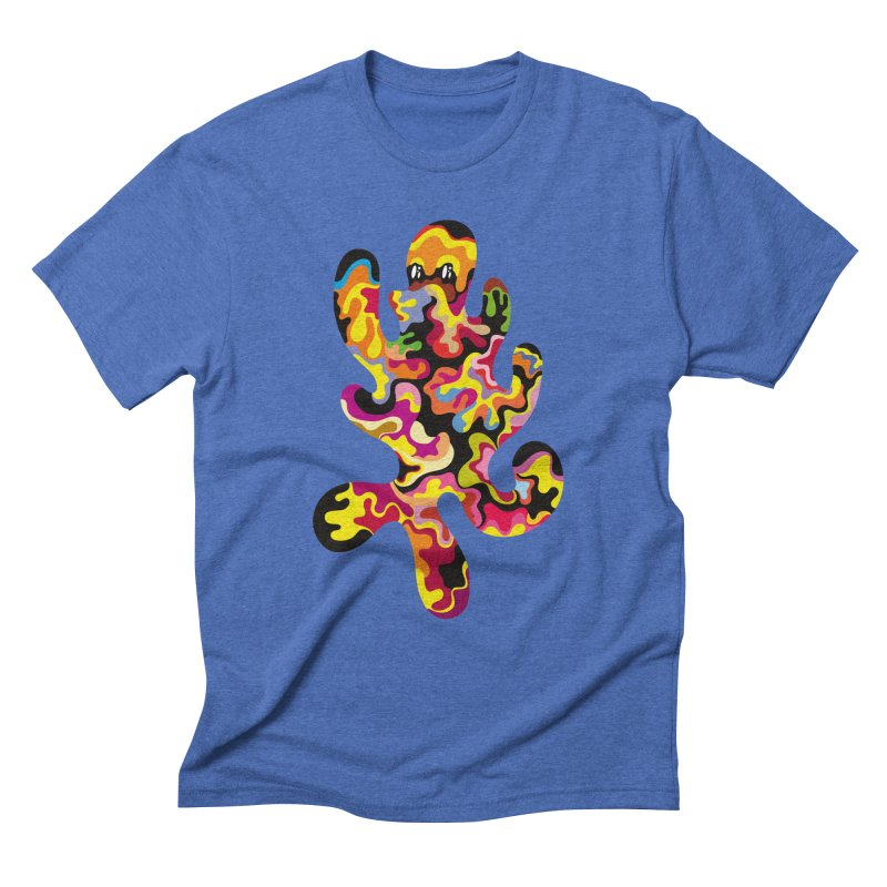 Monster of the day (September 18) [Year 1] Men's Triblend T-Shirt by Daily Monster Shop by Royal Glamsters
