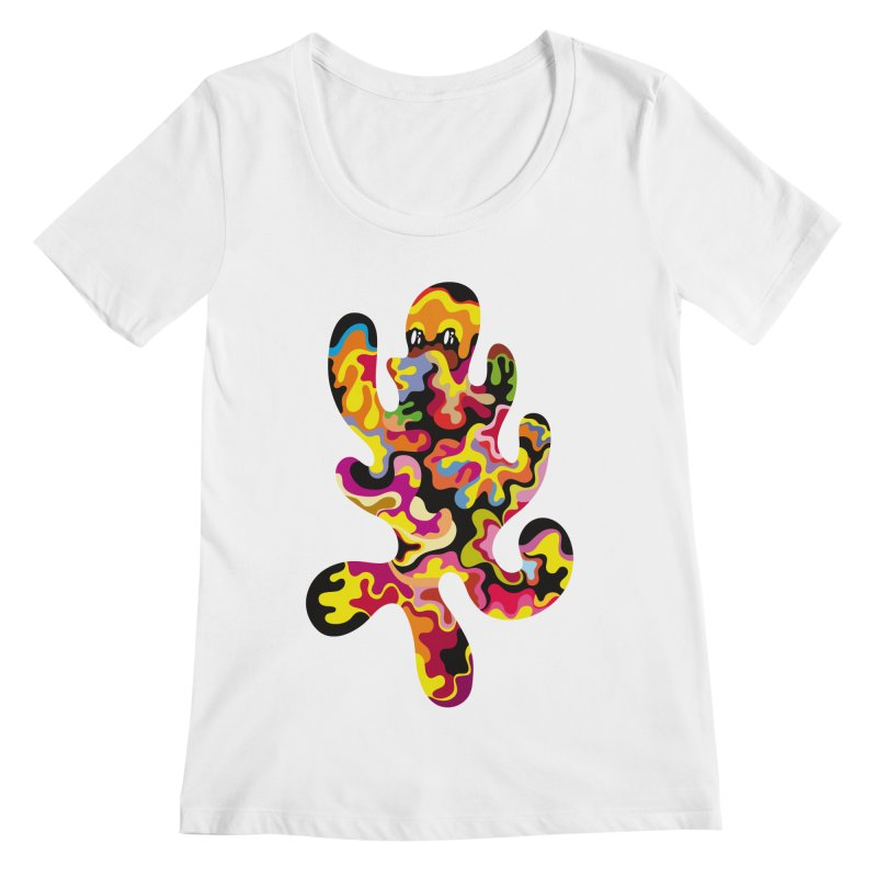 Monster of the day (September 18) [Year 1] Women's Regular Scoop Neck by Daily Monster Shop by Royal Glamsters
