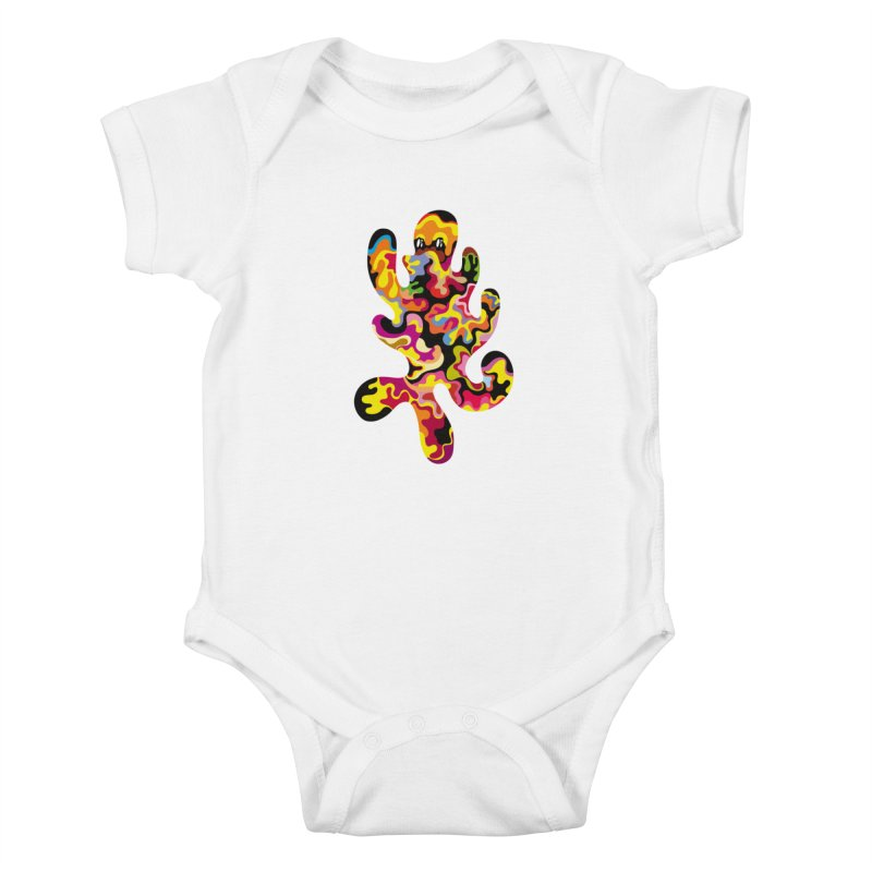 Monster of the day (September 18) [Year 1] Kids Baby Bodysuit by Daily Monster Shop by Royal Glamsters