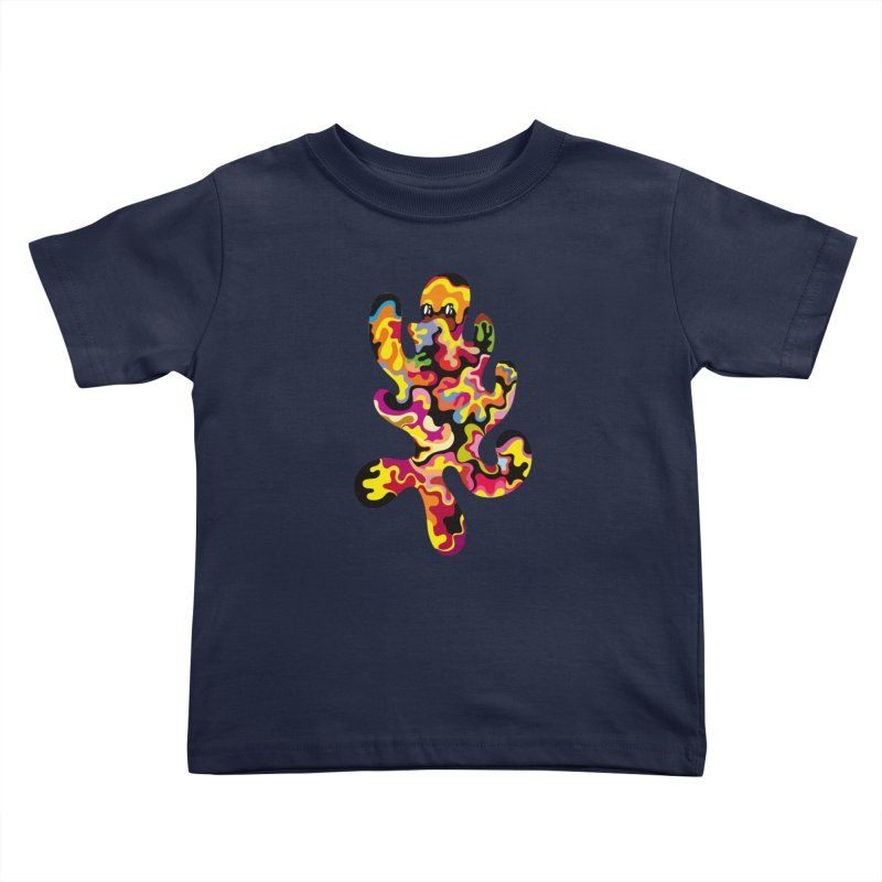 Monster of the day (September 18) [Year 1] Kids Toddler T-Shirt by Daily Monster Shop by Royal Glamsters