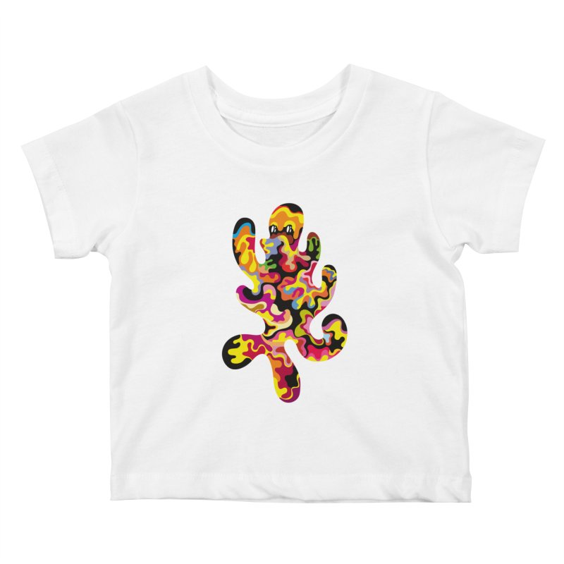 Monster of the day (September 18) [Year 1] Kids Baby T-Shirt by Daily Monster Shop by Royal Glamsters