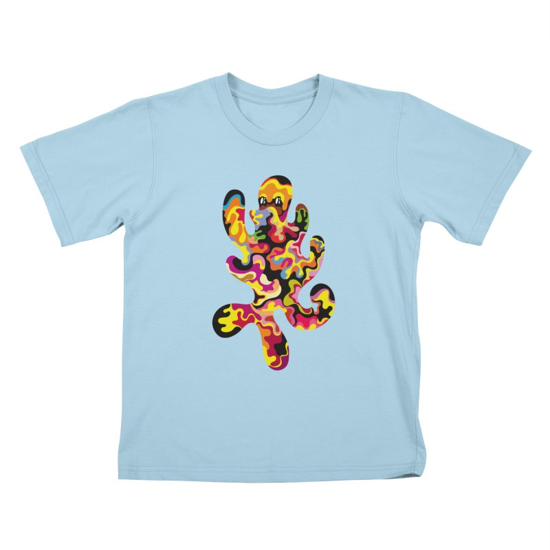 Monster of the day (September 18) [Year 1] Kids T-Shirt by Daily Monster Shop by Royal Glamsters