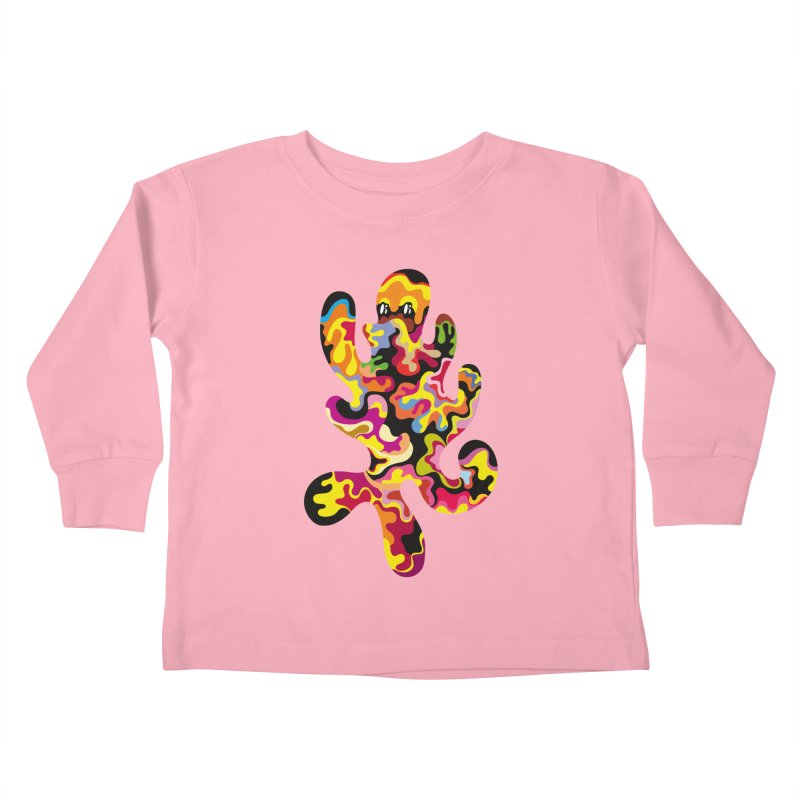 Monster of the day (September 18) [Year 1] Kids Toddler Longsleeve T-Shirt by Daily Monster Shop by Royal Glamsters