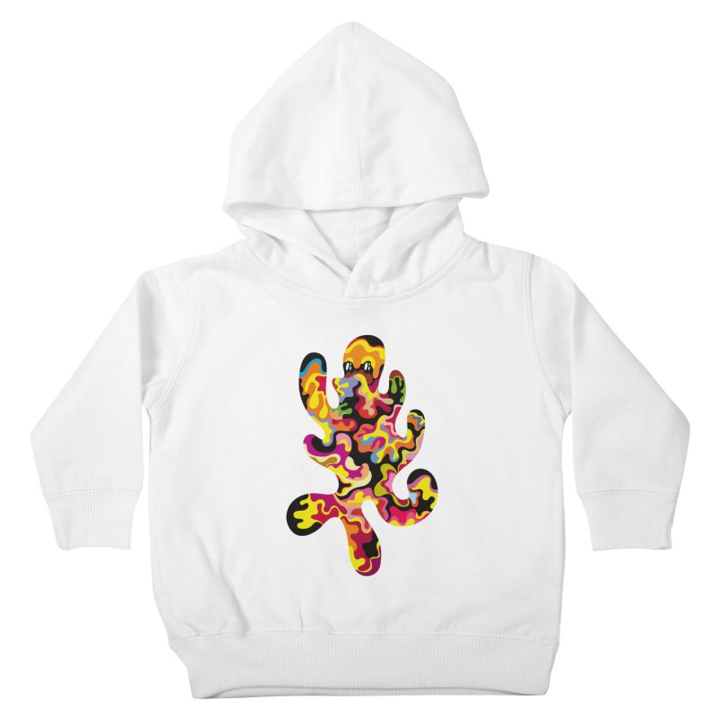 Monster of the day (September 18) [Year 1] Kids Toddler Pullover Hoody by Daily Monster Shop by Royal Glamsters