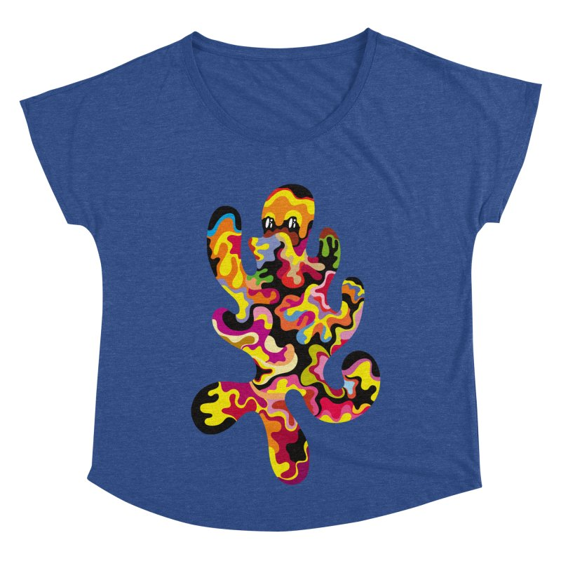 Monster of the day (September 18) [Year 1] Women's Dolman Scoop Neck by Daily Monster Shop by Royal Glamsters