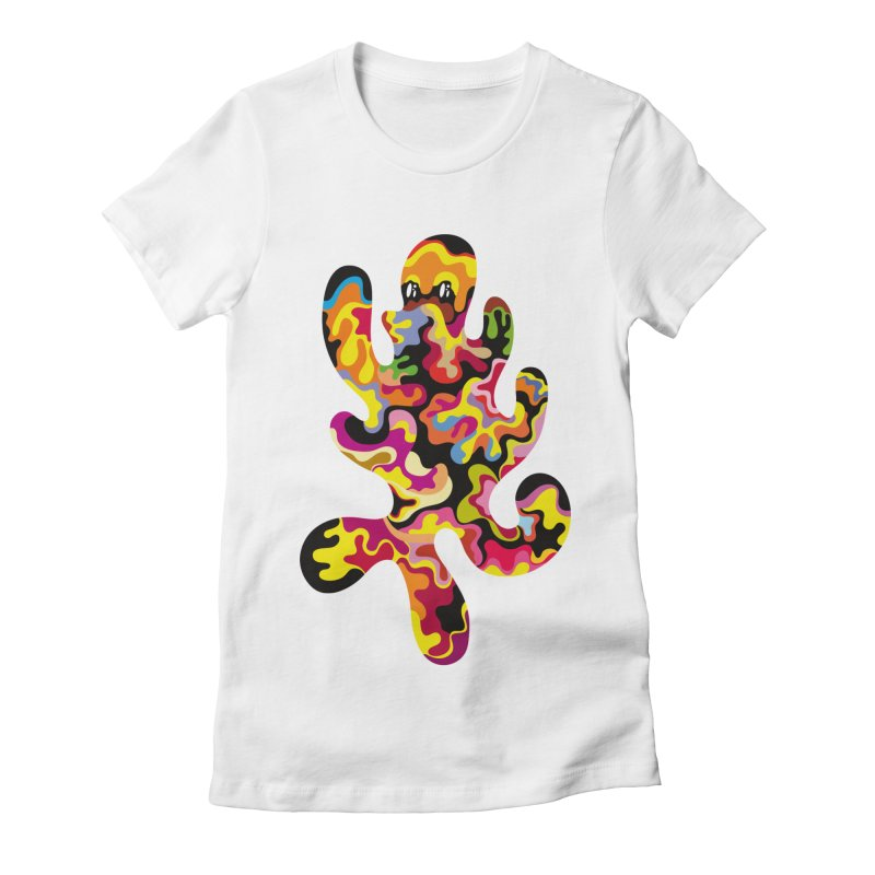 Monster of the day (September 18) [Year 1] Women's Fitted T-Shirt by Daily Monster Shop by Royal Glamsters