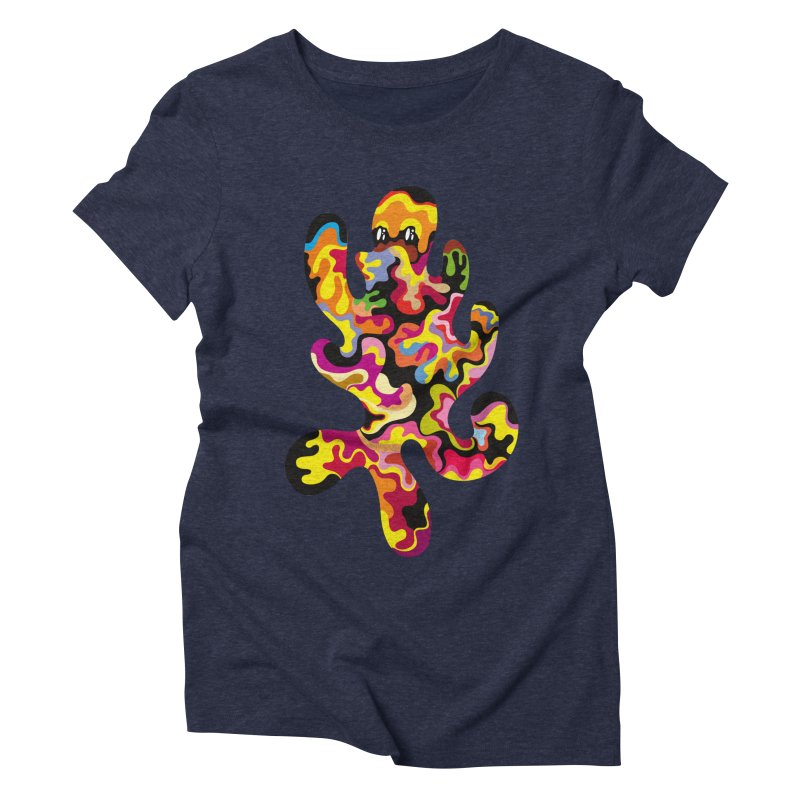 Monster of the day (September 18) [Year 1] Women's Triblend T-Shirt by Daily Monster Shop by Royal Glamsters