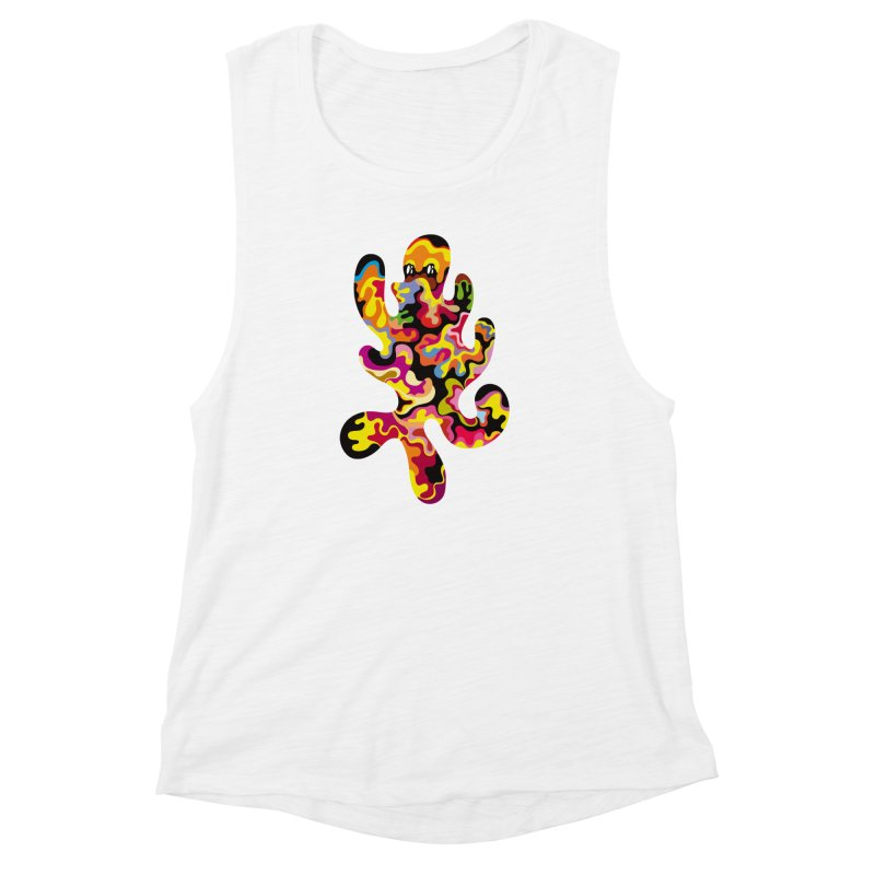 Monster of the day (September 18) [Year 1] Women's Muscle Tank by Daily Monster Shop by Royal Glamsters