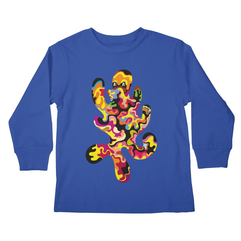 Monster of the day (September 18) [Year 1] Kids Longsleeve T-Shirt by Daily Monster Shop by Royal Glamsters
