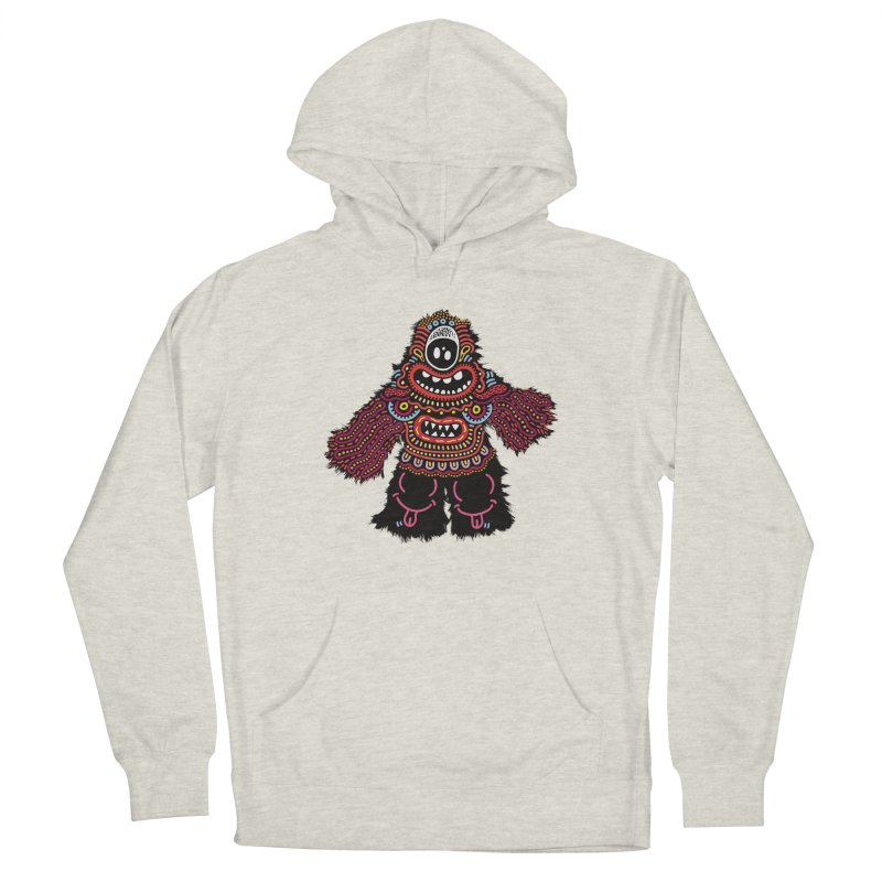 (Stupid) monster of the day (June 24) [Year 1] Men's French Terry Pullover Hoody by Daily Monster Shop by Royal Glamsters