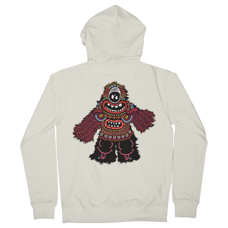 (Stupid) monster of the day (June 24) [Year 1] Women's Zip-Up Hoody by Daily Monster Shop by Royal Glamsters