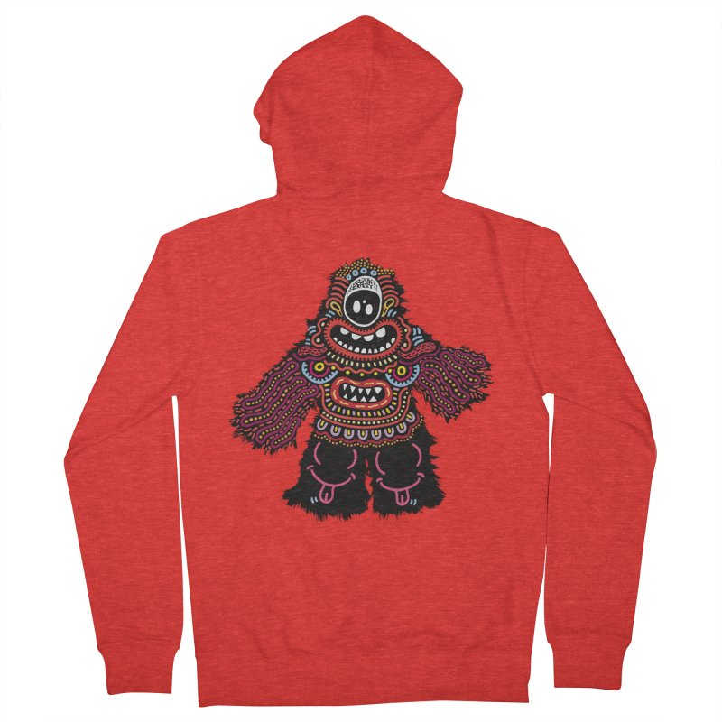 (Stupid) monster of the day (June 24) [Year 1] Men's Zip-Up Hoody by Daily Monster Shop by Royal Glamsters