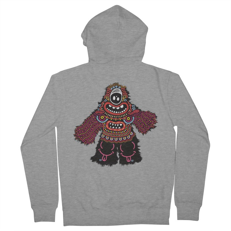 (Stupid) monster of the day (June 24) [Year 1] Men's French Terry Zip-Up Hoody by Daily Monster Shop by Royal Glamsters