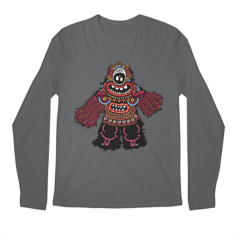 (Stupid) monster of the day (June 24) [Year 1] Men's Regular Longsleeve T-Shirt by Daily Monster Shop by Royal Glamsters