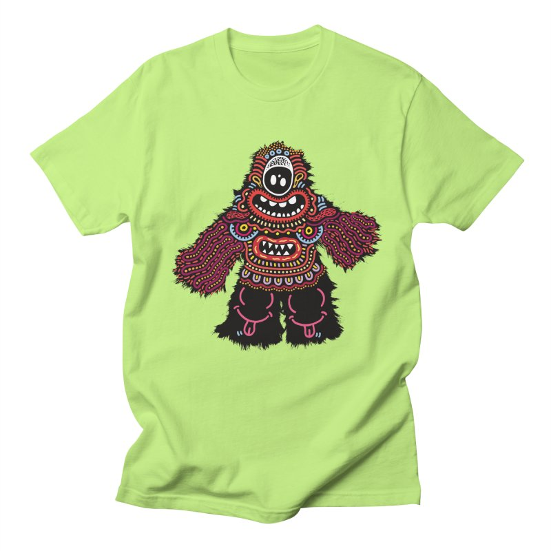 (Stupid) monster of the day (June 24) [Year 1] Men's Regular T-Shirt by Daily Monster Shop by Royal Glamsters