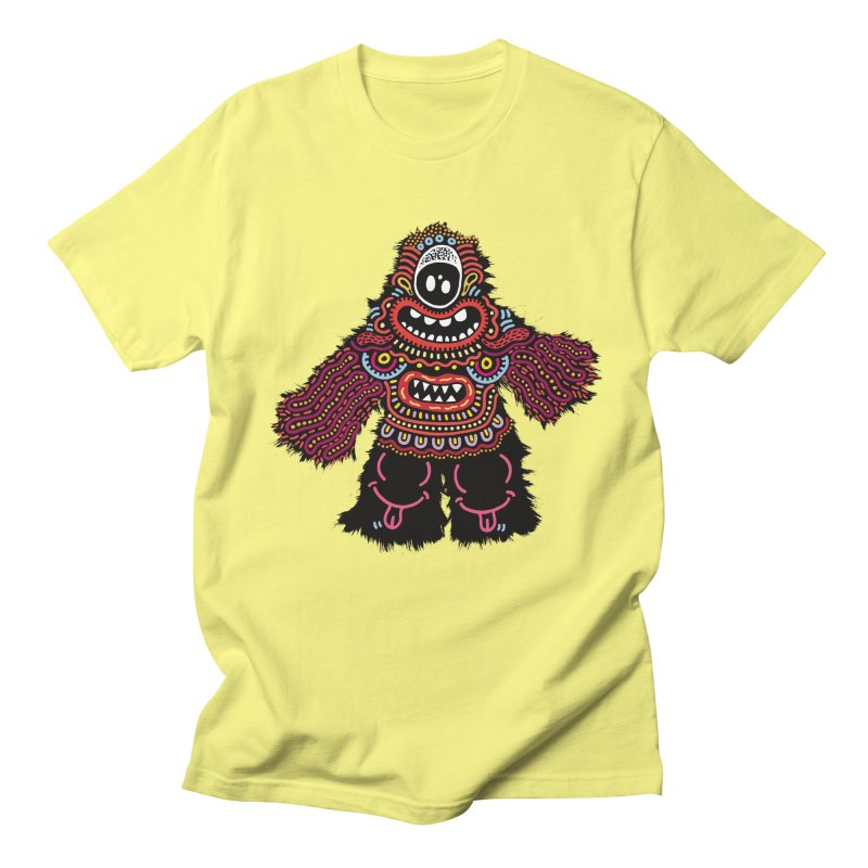 (Stupid) monster of the day (June 24) [Year 1] Women's Regular Unisex T-Shirt by Daily Monster Shop by Royal Glamsters