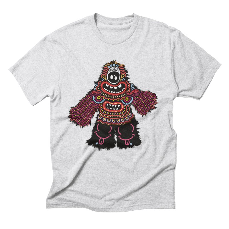(Stupid) monster of the day (June 24) [Year 1] Men's Triblend T-Shirt by Daily Monster Shop by Royal Glamsters