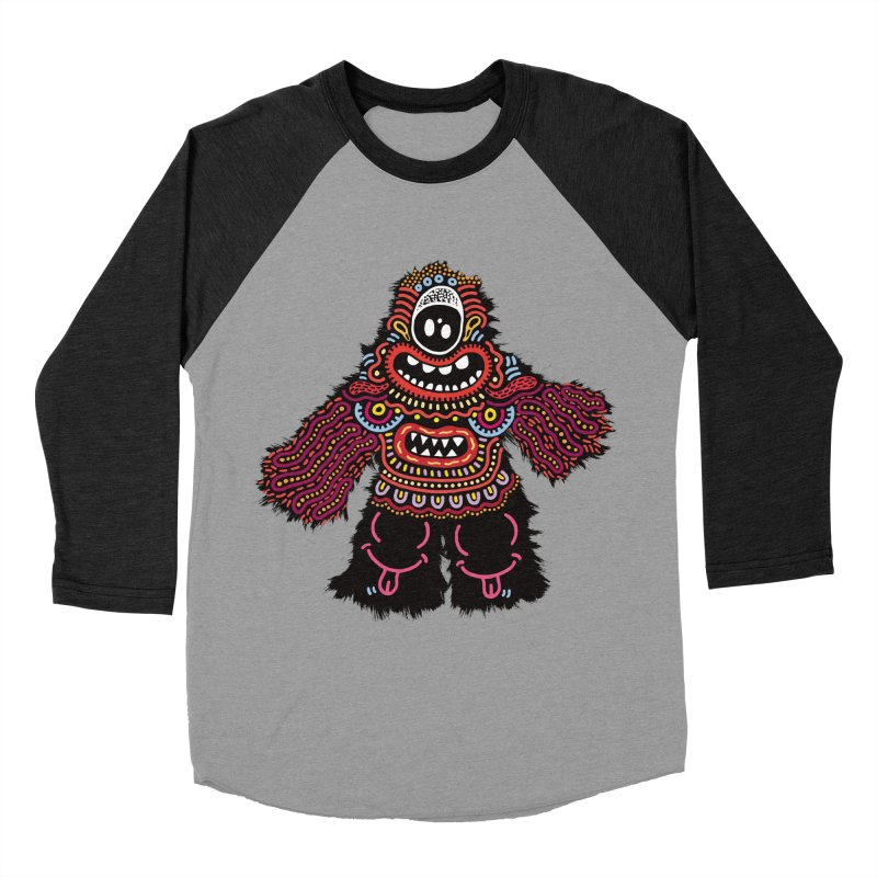 (Stupid) monster of the day (June 24) [Year 1] Women's Baseball Triblend T-Shirt by Daily Monster Shop by Royal Glamsters