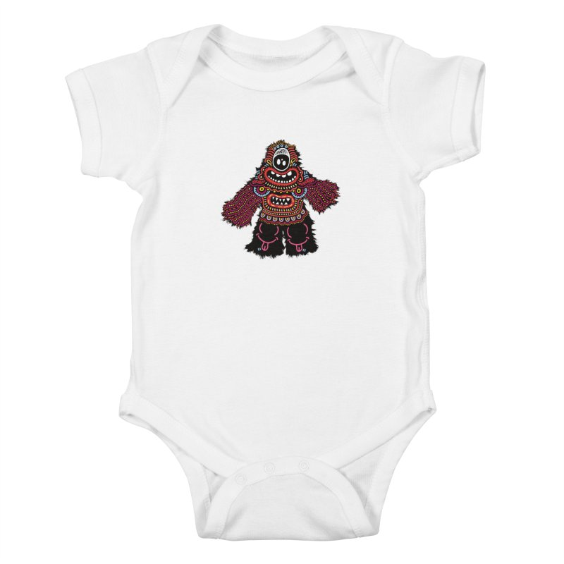(Stupid) monster of the day (June 24) [Year 1] Kids Baby Bodysuit by Daily Monster Shop by Royal Glamsters