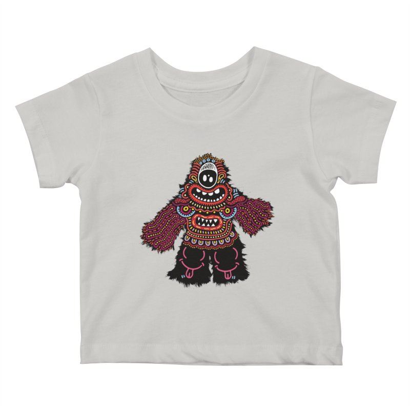(Stupid) monster of the day (June 24) [Year 1] Kids Baby T-Shirt by Daily Monster Shop by Royal Glamsters