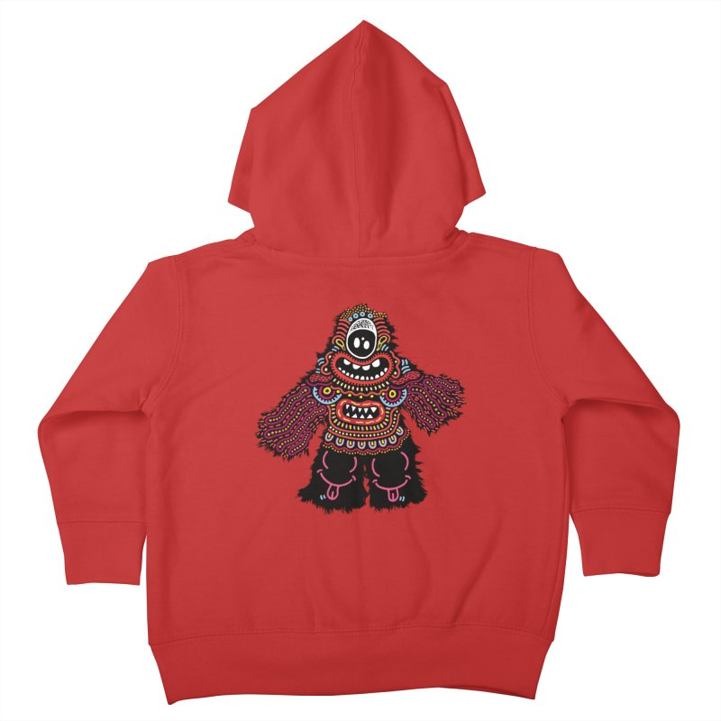 (Stupid) monster of the day (June 24) [Year 1] Kids Toddler Zip-Up Hoody by Daily Monster Shop by Royal Glamsters