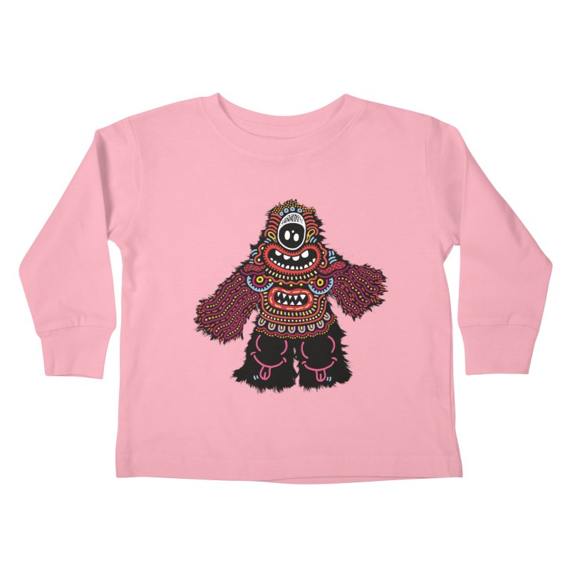 (Stupid) monster of the day (June 24) [Year 1] Kids Toddler Longsleeve T-Shirt by Daily Monster Shop by Royal Glamsters