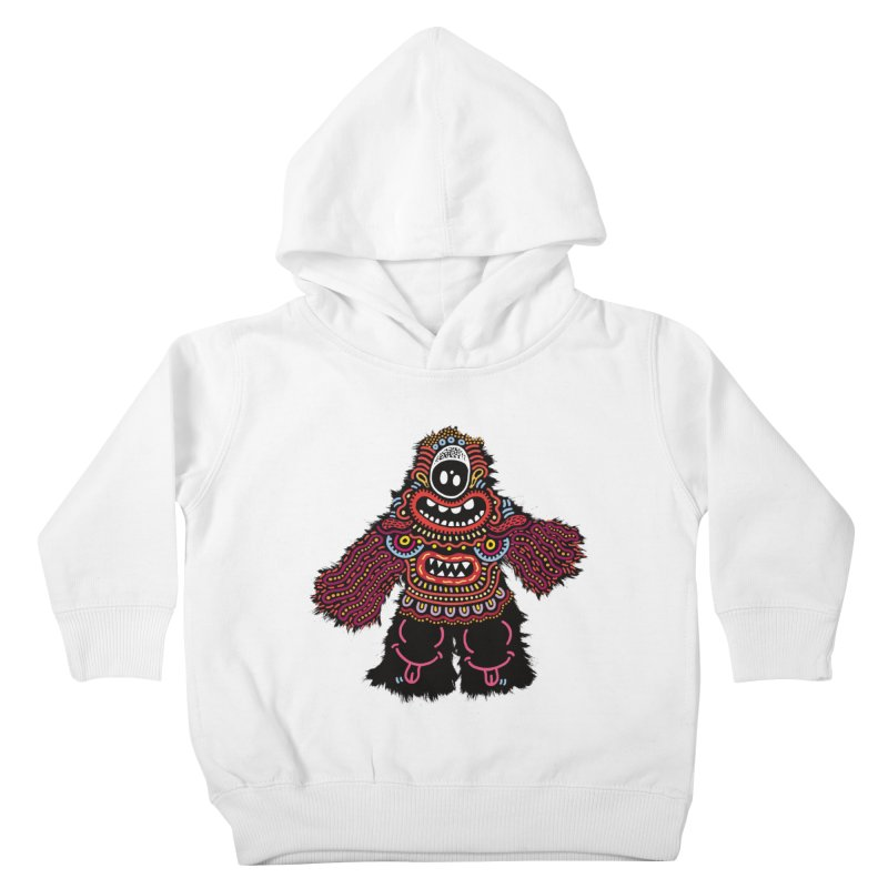 (Stupid) monster of the day (June 24) [Year 1] Kids Toddler Pullover Hoody by Daily Monster Shop by Royal Glamsters