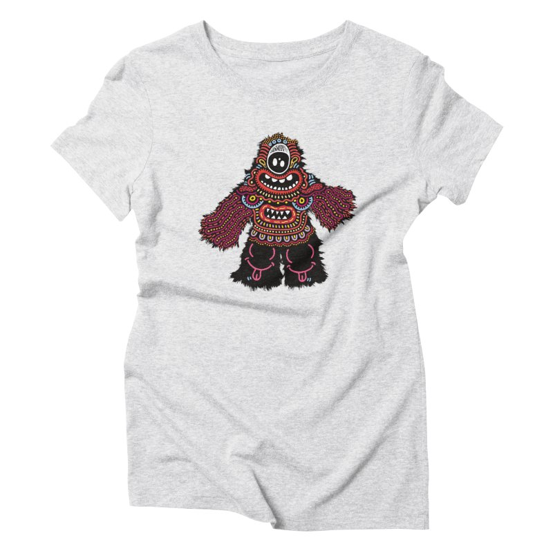 (Stupid) monster of the day (June 24) [Year 1] Women's T-Shirt by Daily Monster Shop by Royal Glamsters