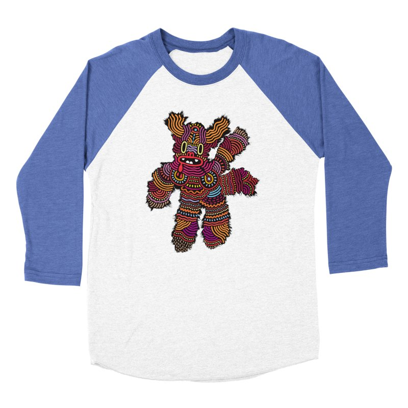 Monster of the day (June 26) [Year 1] Women's Baseball Triblend Longsleeve T-Shirt by Daily Monster Shop by Royal Glamsters