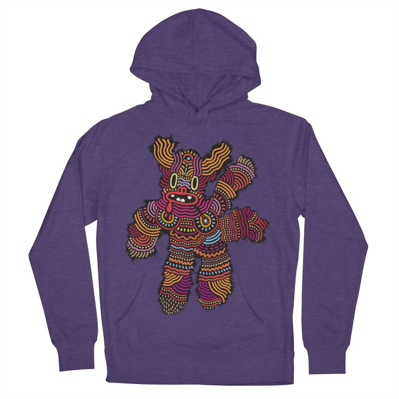 Monster of the day (June 26) [Year 1] Men's French Terry Pullover Hoody by Daily Monster Shop by Royal Glamsters
