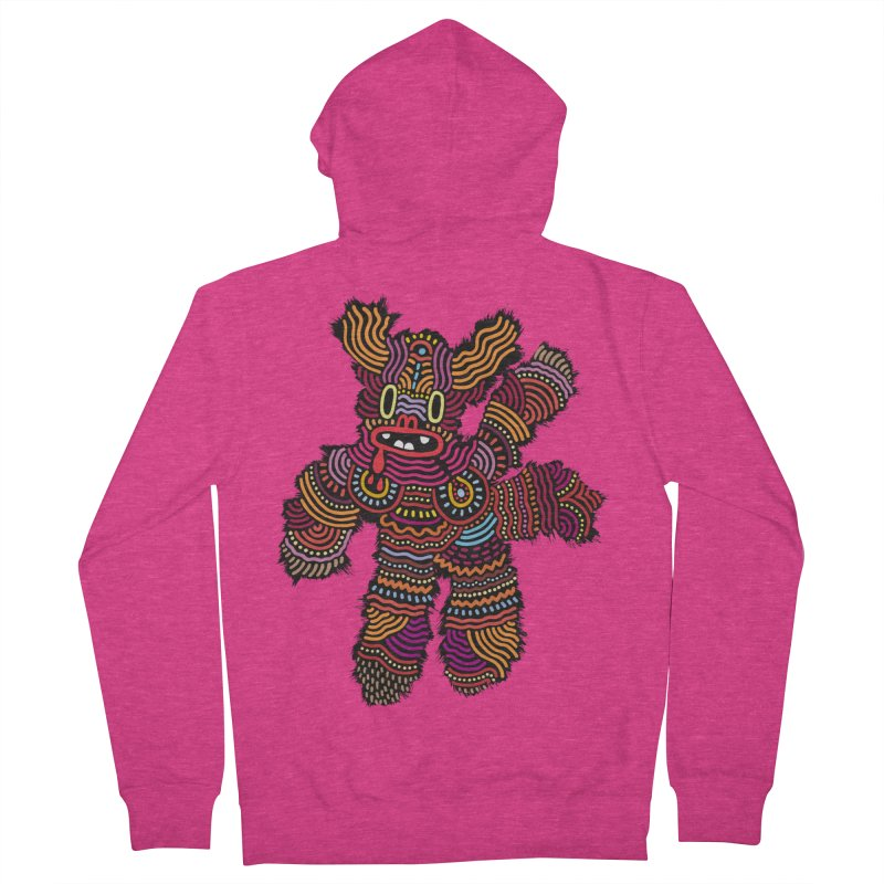 Monster of the day (June 26) [Year 1] Women's French Terry Zip-Up Hoody by Daily Monster Shop by Royal Glamsters