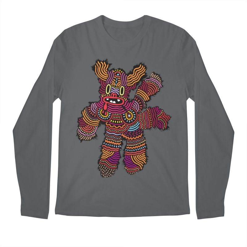 Monster of the day (June 26) [Year 1] Men's Longsleeve T-Shirt by Daily Monster Shop by Royal Glamsters