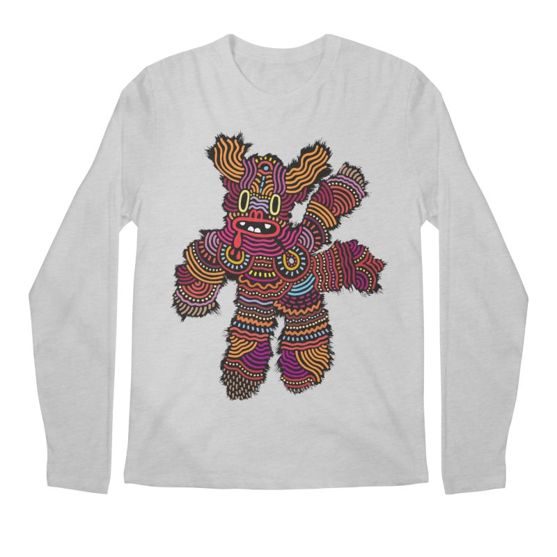 Monster of the day (June 26) [Year 1] Men's Regular Longsleeve T-Shirt by Daily Monster Shop by Royal Glamsters