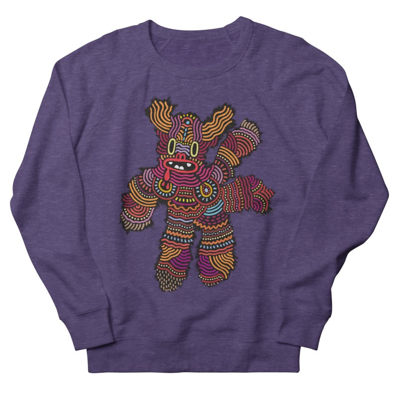 Monster of the day (June 26) [Year 1] Women's French Terry Sweatshirt by Daily Monster Shop by Royal Glamsters