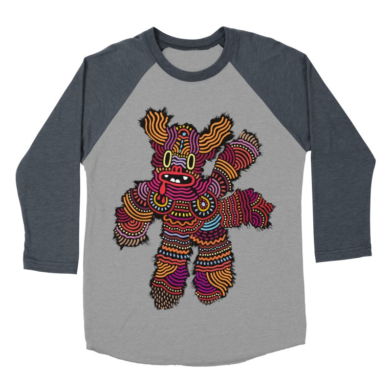 Monster of the day (June 26) [Year 1] Men's Baseball Triblend Longsleeve T-Shirt by Daily Monster Shop by Royal Glamsters