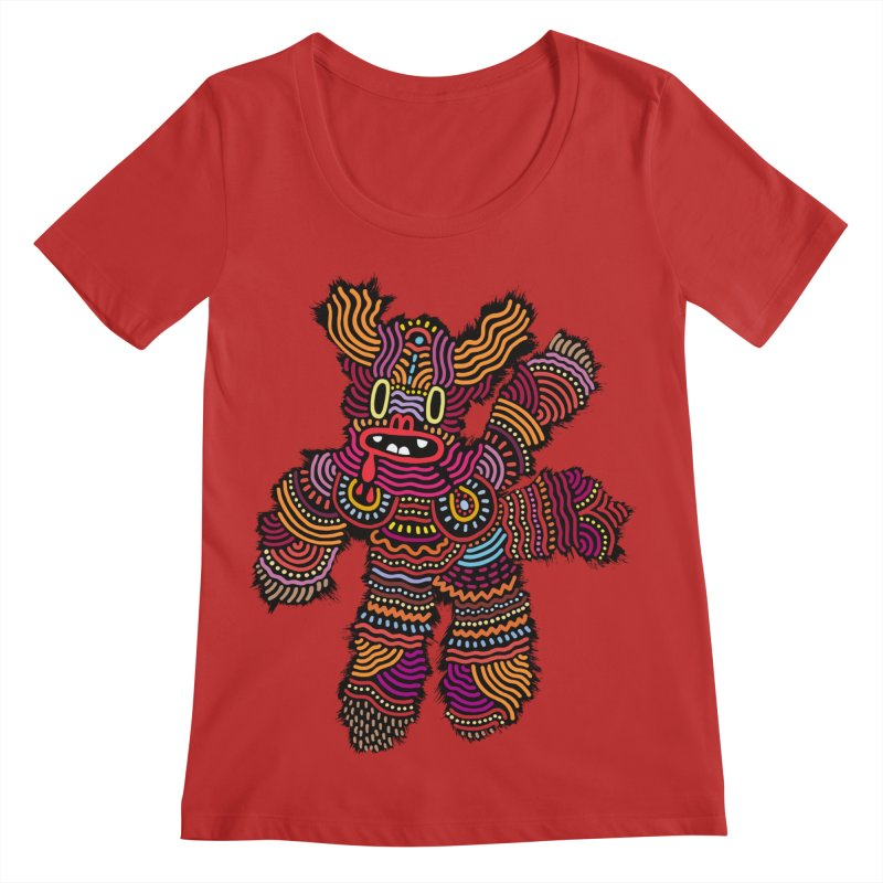 Monster of the day (June 26) [Year 1] Women's Regular Scoop Neck by Daily Monster Shop by Royal Glamsters
