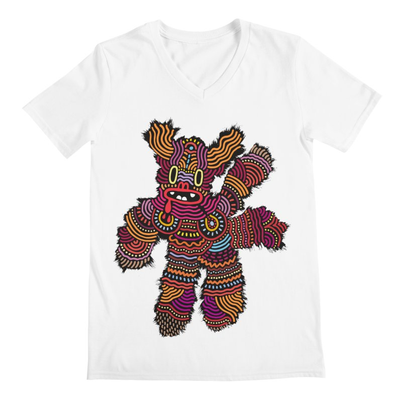 Monster of the day (June 26) [Year 1] Men's V-Neck by Daily Monster Shop by Royal Glamsters