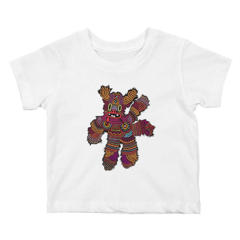 Monster of the day (June 26) [Year 1] Kids Baby T-Shirt by Daily Monster Shop by Royal Glamsters